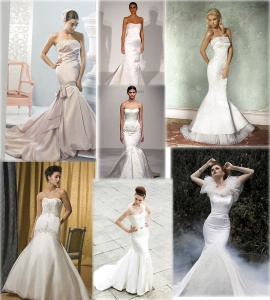 Mermaid Style Wedding Dresses