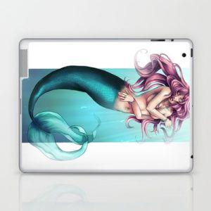 "Perfect ""skin"" for my laptop: Mermaid, Me!"